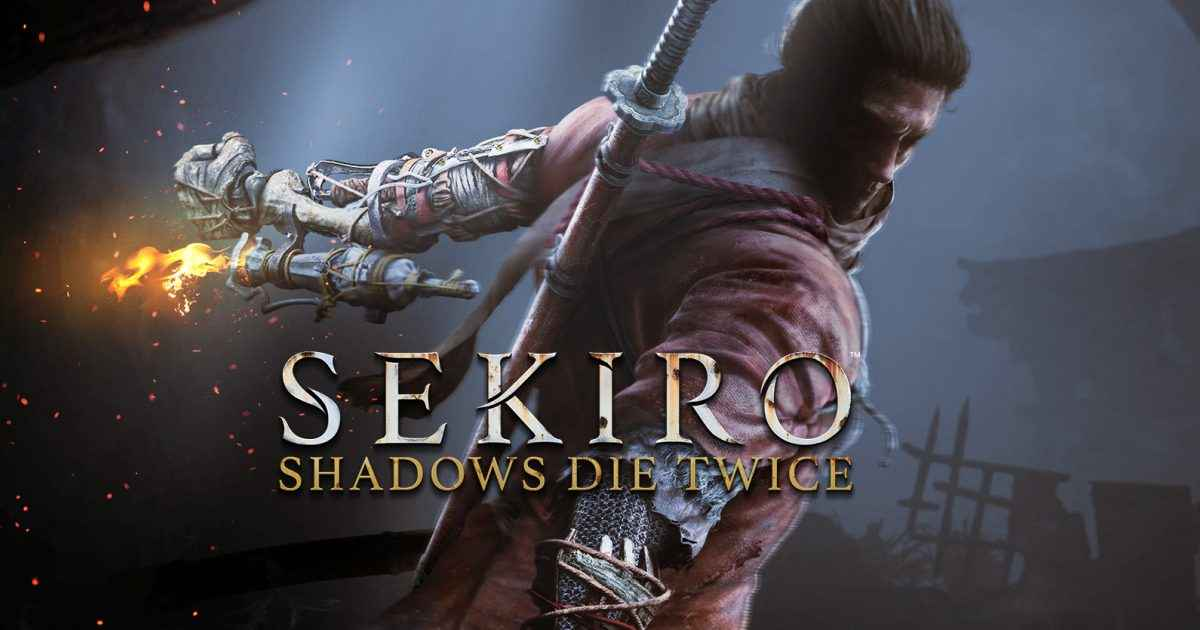 Sekiro shadows die twice cover