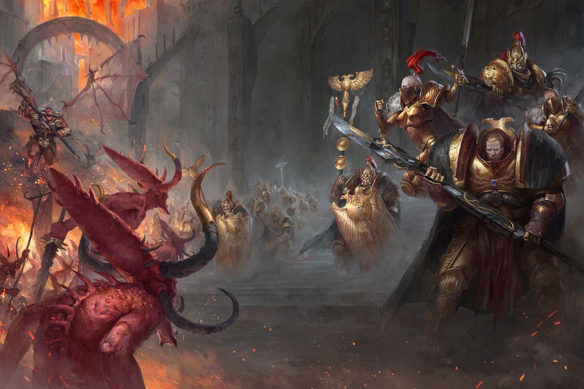 Artwork di copertina di Watchers of the Throne: The Emperor's Legion