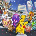 Artwork ufficiale delle Olimpiadi 2020 di Tokyo con i Pokémon come protagonisti