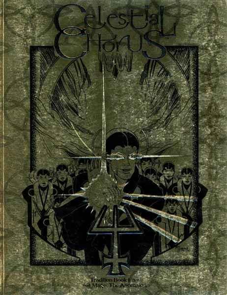 Il libro del Celestial Chorus di VtM