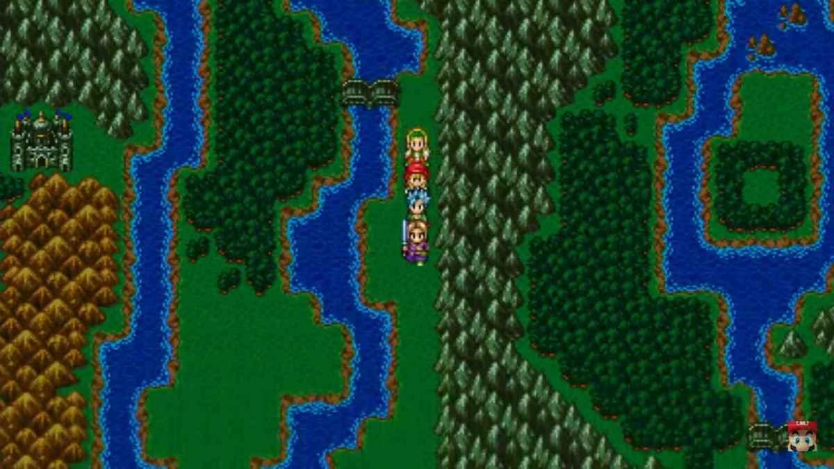 Modalità 16 Bit di Dragon Quest XI