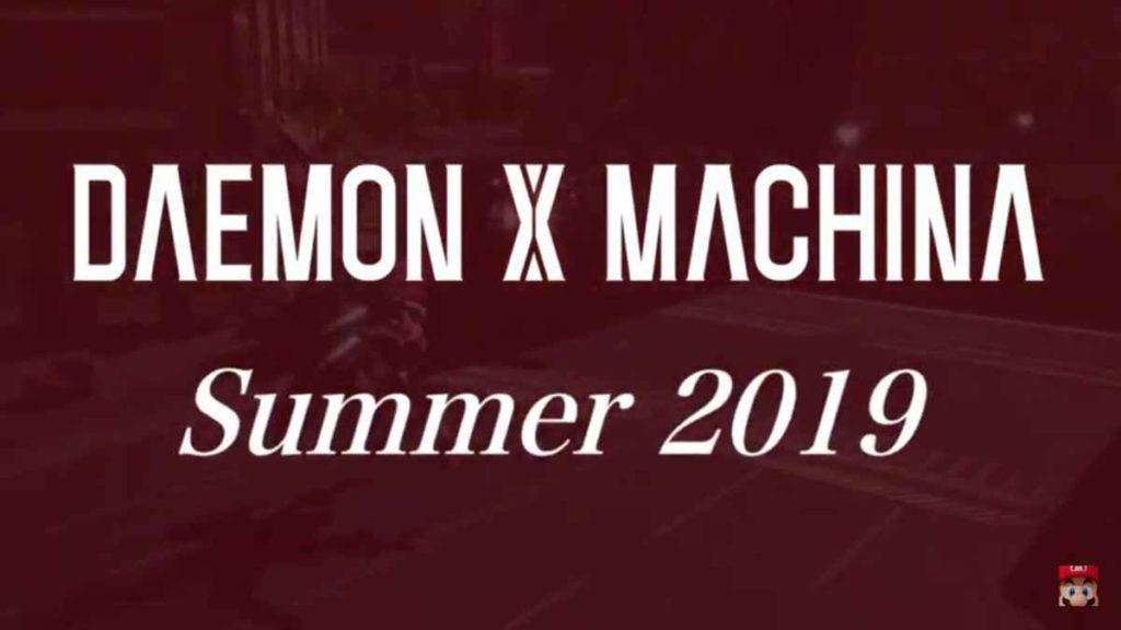 Daemon X Machina Nintendo Direct