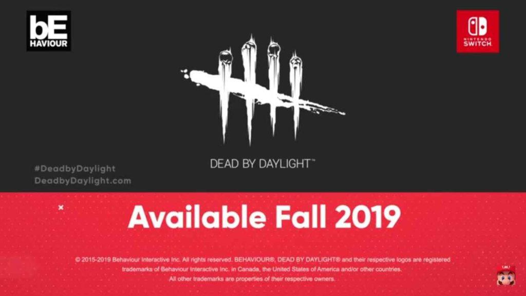 Dead By Daylight Nintendo Direct