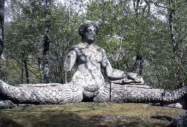 Echidna - Pirro Ligorio (1555) - Parco dei Mostri di Bomarzo - Lazio - Italy