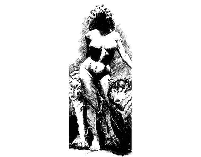 Ennoia, l'Antidiluviana Gangrel di Vampire: the Masquerade