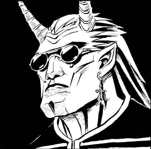 Il Gargoyle Ferox in VtM Gehenna