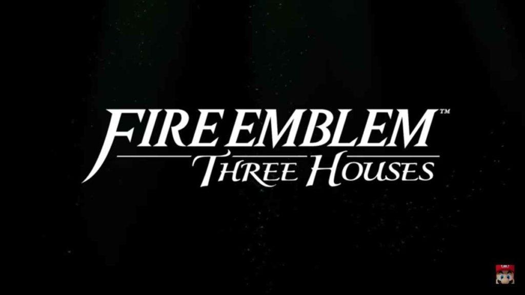 Fire Emblem Three Houses nintendo direct