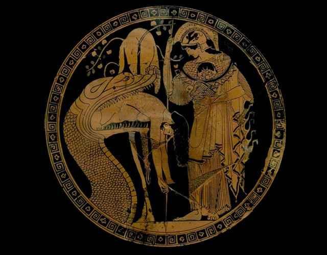 Giasone e il Drago della Colchide