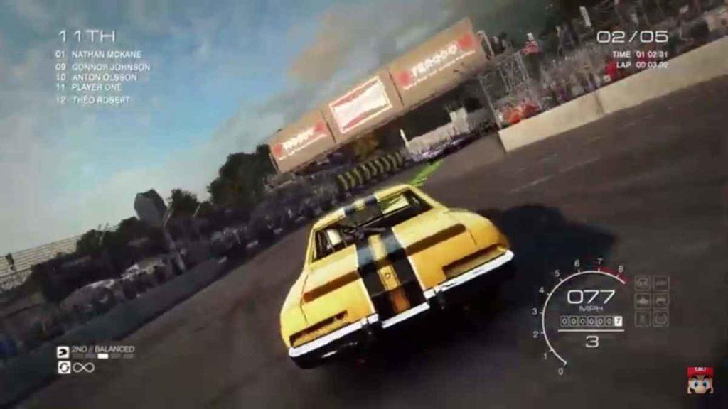 Grid Autosport Nintendo Direct
