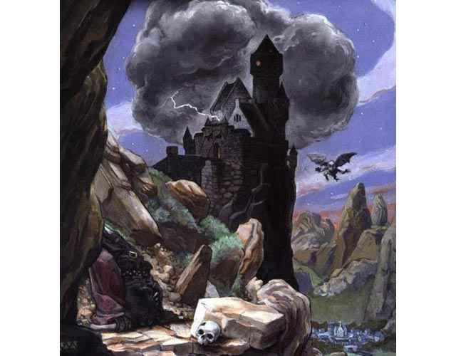 Il castello di Hunedora degli Inconnu