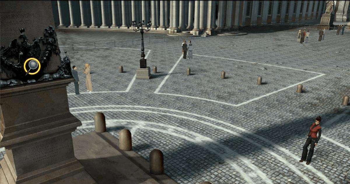 Italy&Videogames Jonathan Danter nel sangue di Giuda - Piazza San Pietro
