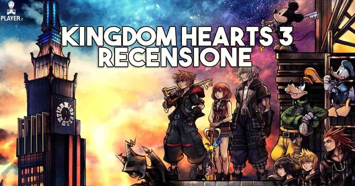 Kingdom Hearts 3, recensione