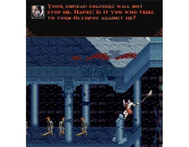 Kratos accusa Ade in God of War: Betrayal