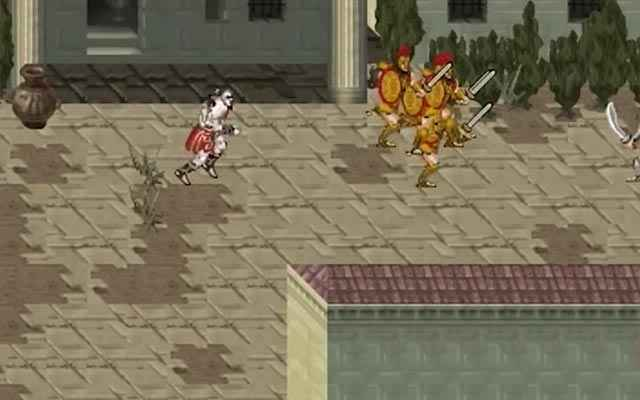 L'assedio di Rodi in God of War Betrayal