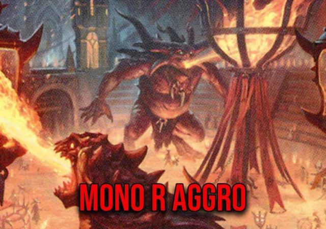 mtg arena mono r aggro
