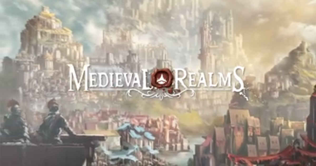 Medieval Realms gioco da tavolo