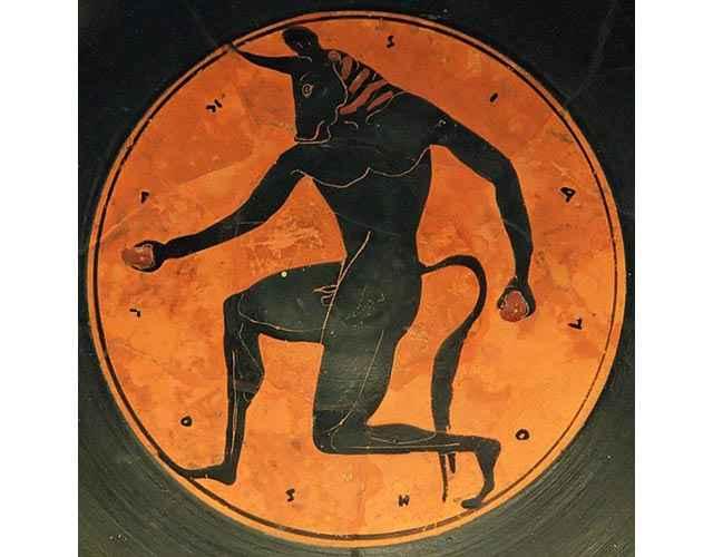 Il Minotauro del mito greco