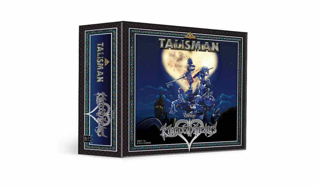Fotografia della box art di Talisman: Kingdom Hearts Edition