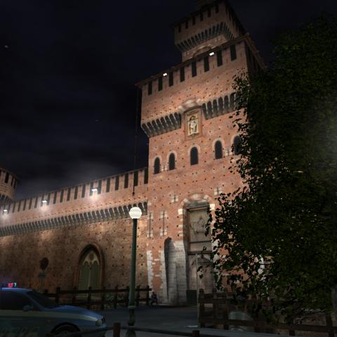 Rainbow Six 3 Raven shield, Athena Sword - Castello Sforzesco, Milano