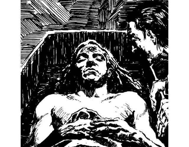 Il terzo occhio di Saulot in Vampire: the Masquerade