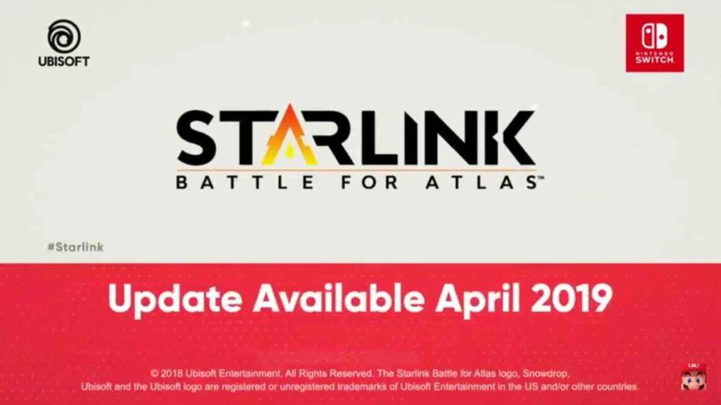 Starlink battle for atlas nintedo direct