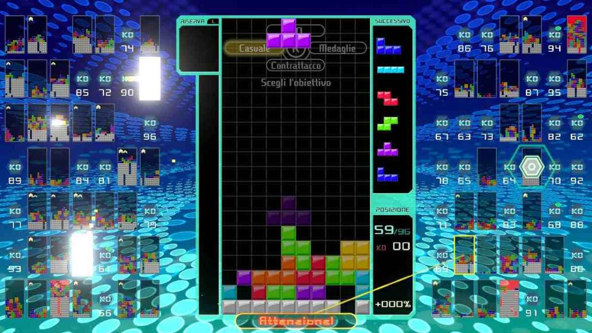 Provato - Tetris 99, un battle-royale inaspettato - Player it