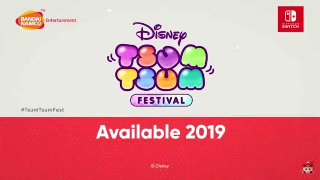 Disney Tsum Tsum Festival Nintendo Direct