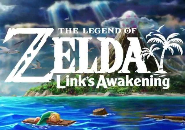 Title card di The Legend of Zelda Link's Awakening