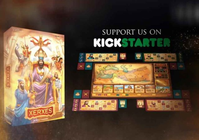 Xerxes diventa un grande e ottieni il favore di Serse in questo gioco da tavolo
