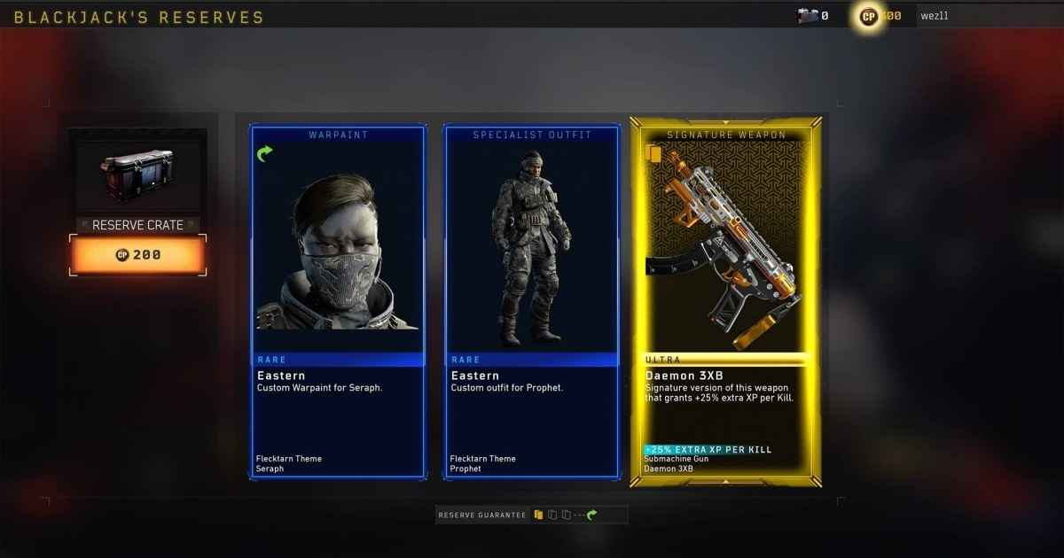 call of duty black ops 4 lootbox