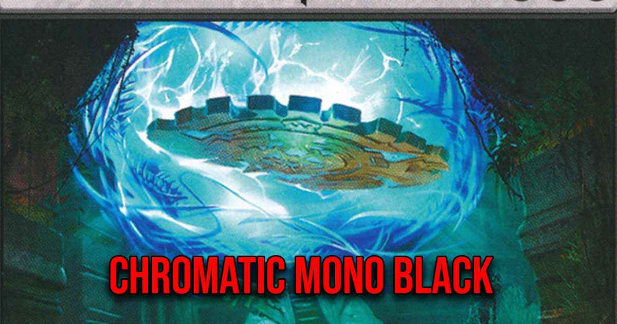 mtg arena chromatic mono black