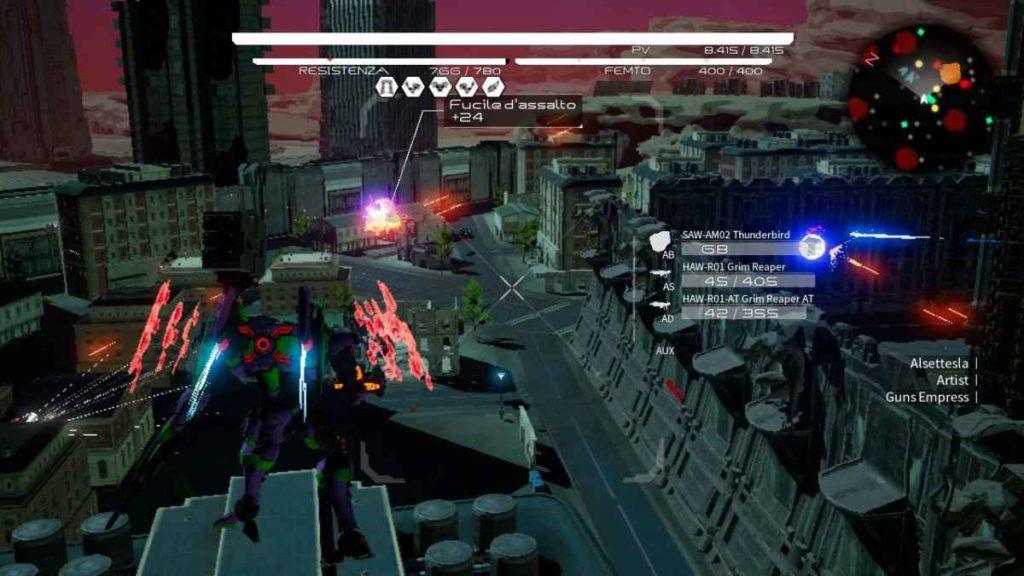 daemon x machina nintendo switch screenshot