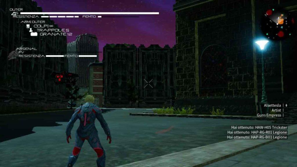 daemon x machina nintendo switch gameplay