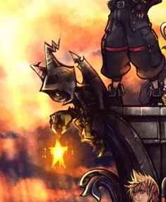 darkling sulla copertina di kingdom hearts 3
