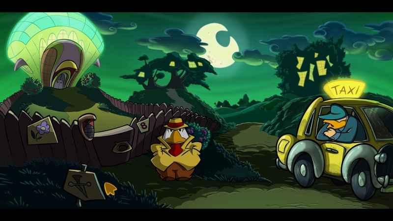 animazioni disegnate a mano di detective gallo
