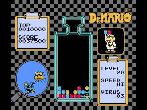 Dr Mario nes gameplay