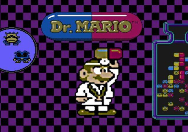 Dr mario header nintendo switch online smartphones