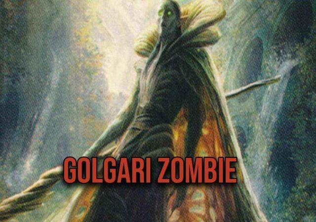 golgari zombie mtg arena