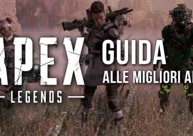 Guida alle migliori armi di Apex Legends