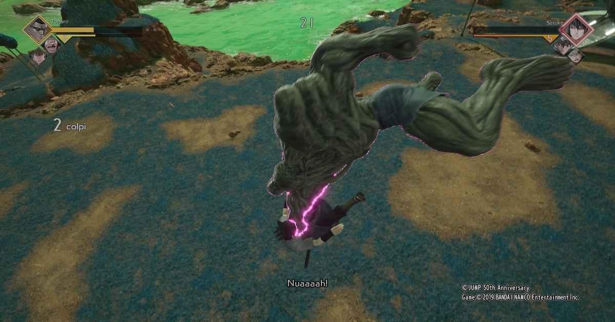 combo e tecniche speciali dei personaggi di jump force