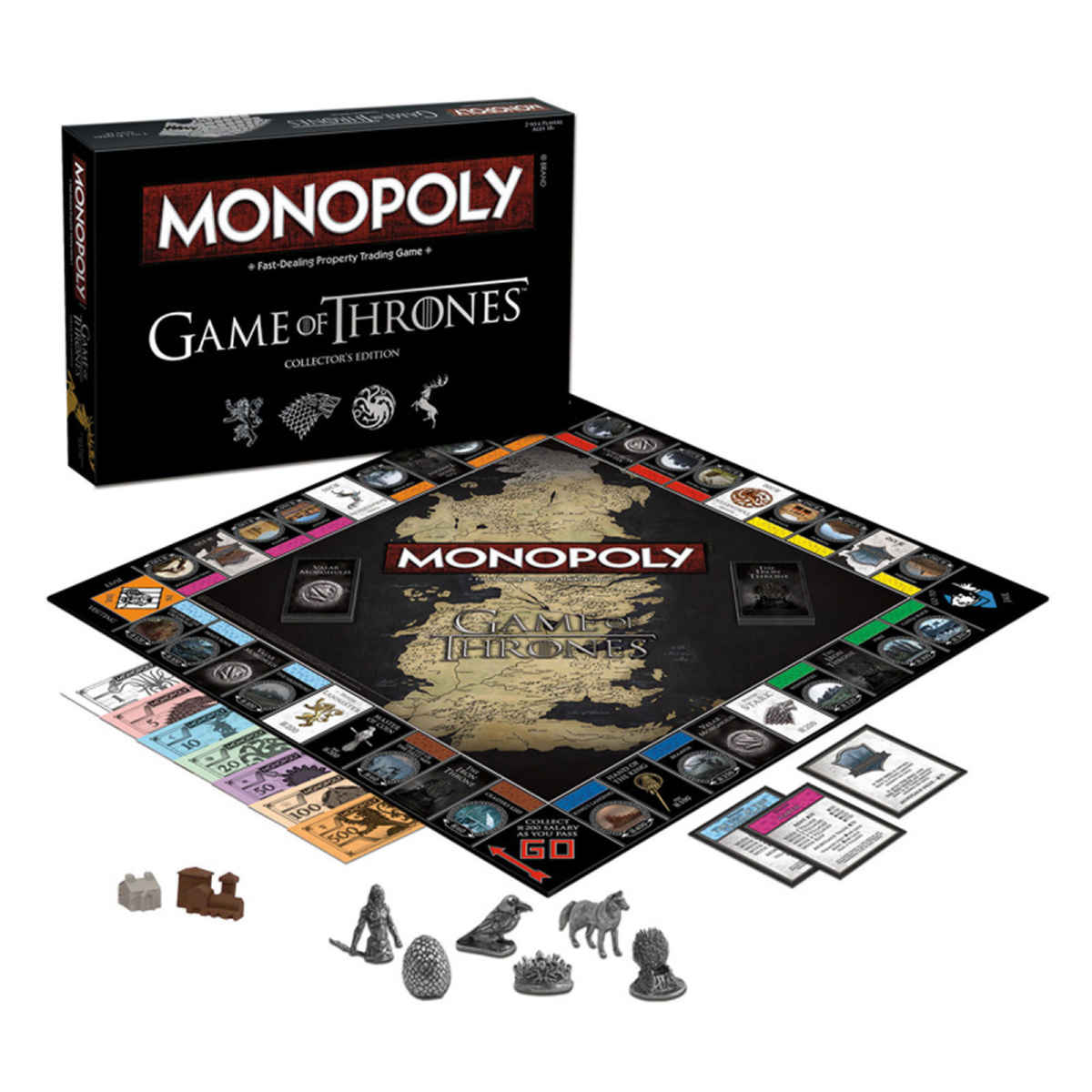 Monopoly a tema Game of Thrones sviluppato da USAopoly
