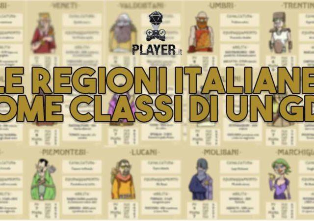 [Gallery] Le regioni italiane come classi di un GDR