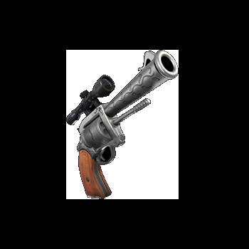 fortnite guida armi revolver con mirino