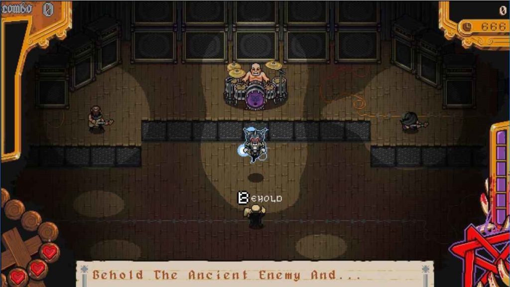 The Textorcist: The Exorcism Of Ray Bibbia gameplay screenshot