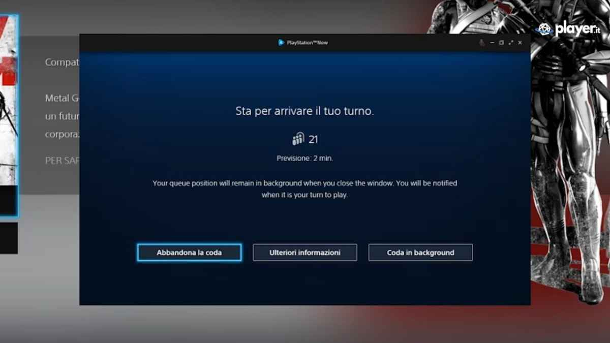 Playstation Now Le code