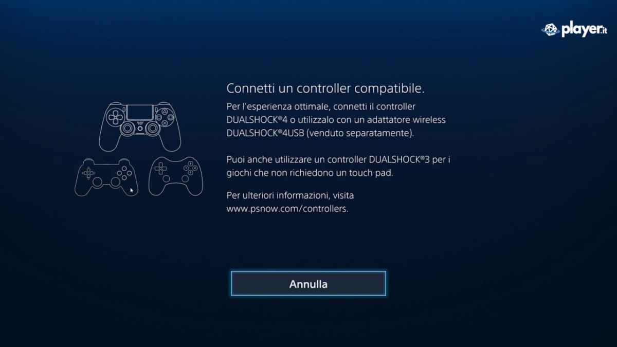 Il controller PS4 su PC playstation now