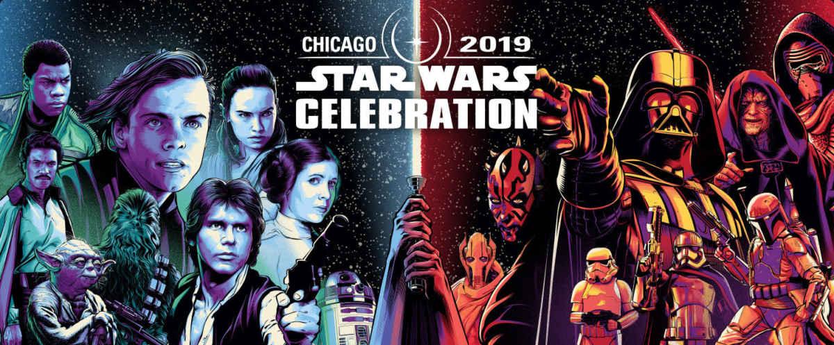 Locandina della Star Wars Celebration del 2019