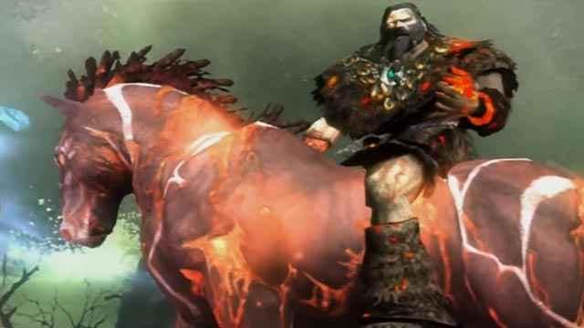 Alrik in God of War 2