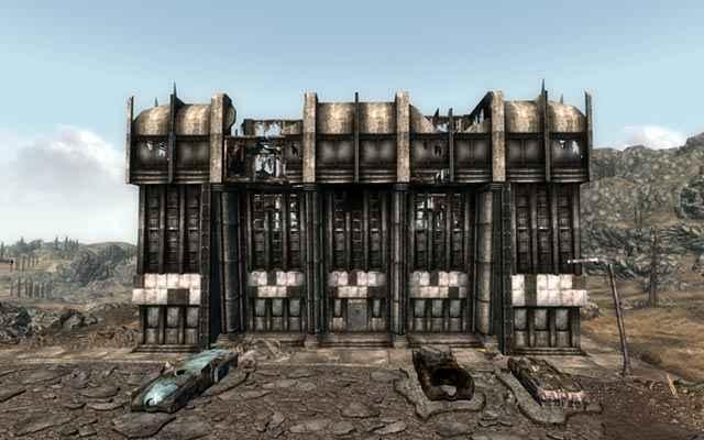 Il Dunwich Building, che possiamo esplorare in Fallout 3