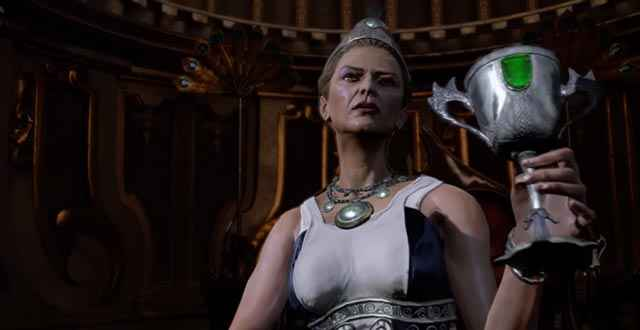 Kratos incontra Era, la Regina dell'Olimpo e moglie di Zeus